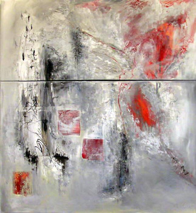 / Ines Kollar / Abstrakt - grau (2004) - Artgalerie ...