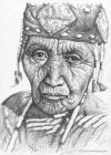 Indianerin - Klamath Woman