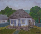 Landscape with house 2 by Munteanu Marcela Doina