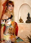 bodypainting indisch