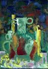 Still life with the candles, 1996, Vitalij Pipo
