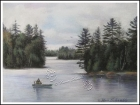 Algonquin Nationalpark, Ont. - Fisherman
